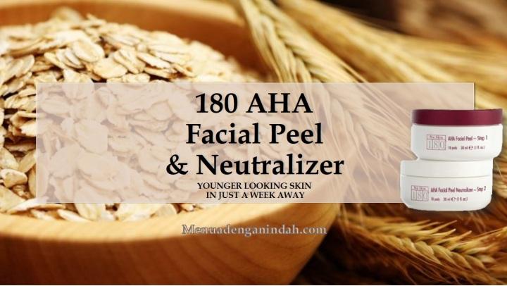NU SKIN 180°® AHA Facial Peel and Neutralizer[EN]