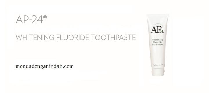 AP24 Whitening FlourideToothpaste