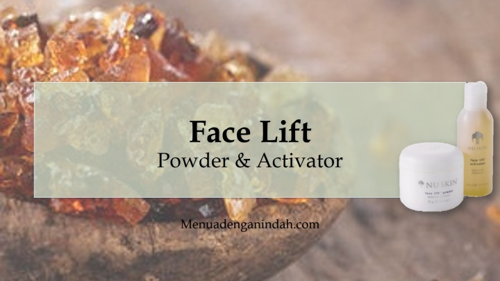Face Lift Sensitive Formula [EN]