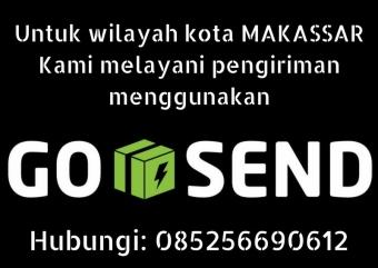 Untuk wilayah kota MAKASSARKami melayani pengiriman menggunakan